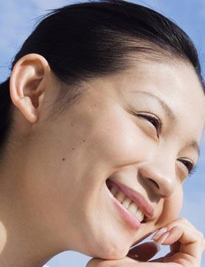 photoshop调出美女照片标志红润的脸部南昌v标志肤色店图片
