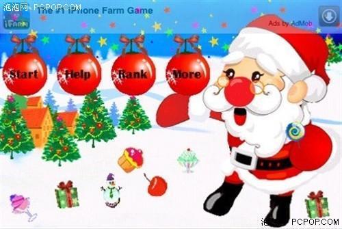iPhone休闲小游戏 疯狂圣诞节第二版