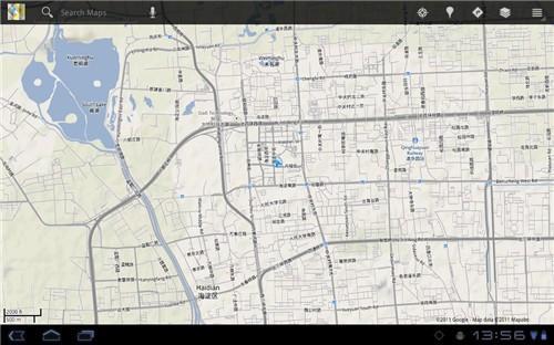 全新的谷歌地图