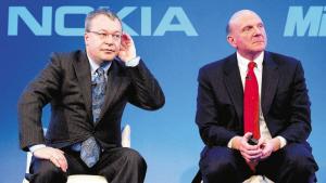 諾基亞總裁兼首席執行官斯蒂芬·艾洛普。新華社發