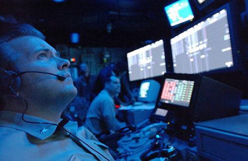 资料图:美军网络战指挥中心