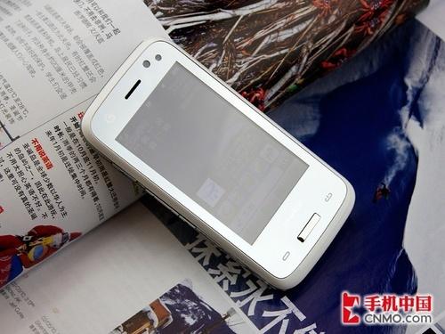 唯美纯白镜面时尚手机联想TD80t赏析