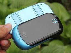 LG C550 蓝色 背面图