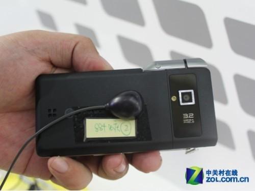 双向翻盖设计 联想TD88t通信展全新亮相