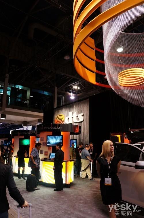 CES2012:DTS影音系统呈现完美视听模式