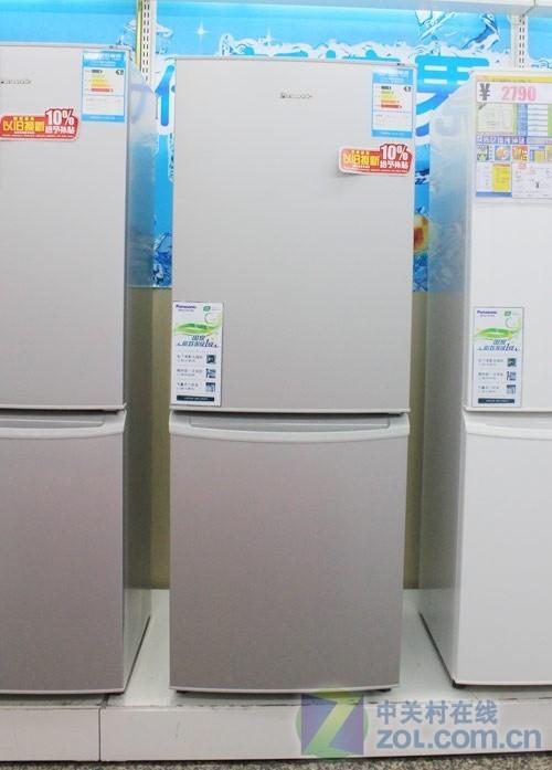 简约外观设计松下两门冰箱网购2059元
