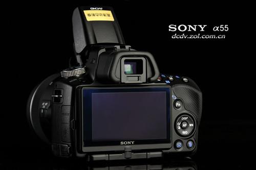 索尼 A55 外观图