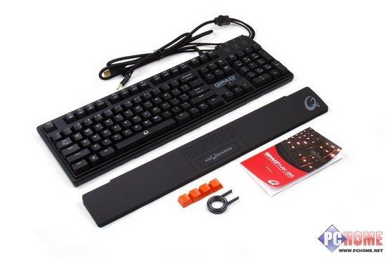顶级装备QPADMK-85红轴键盘深度评测