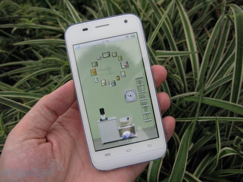 步步高手机vivos7_白色时尚android 步步高vivo s7美图赏_手机_科技时代