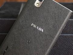 LG P940 黑色 背面图