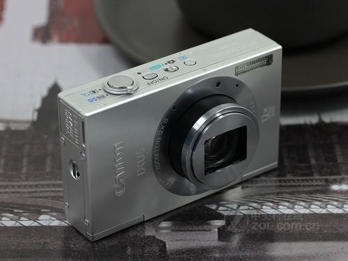 佳能 IXUS 500 HS银色 外观图