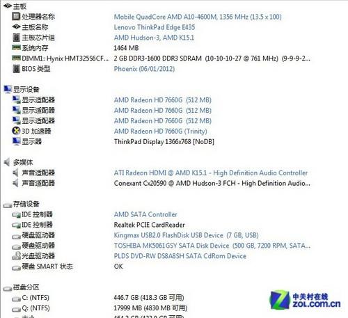 创新典范之作 14英寸ThinkPad E435评测