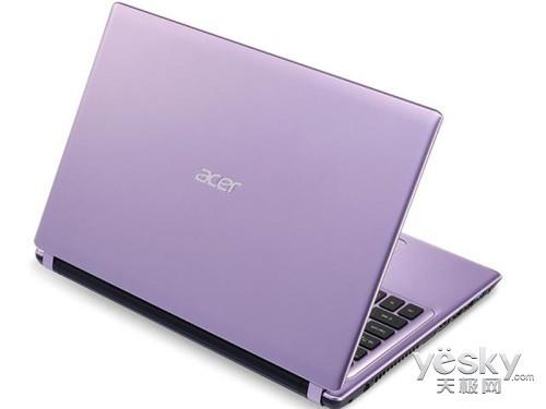 高性能梦幻紫宏�V5-471G笔记本仅4249元