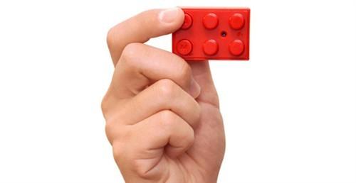 2根手指能拍照超小Chobi积木块相机(图)