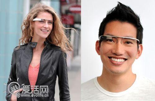 没有耳塞 Google Glass采用骨传导传声