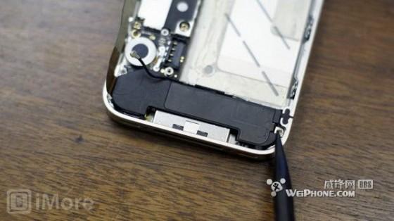 如何更换iPhone4S蜂窝天线的教程