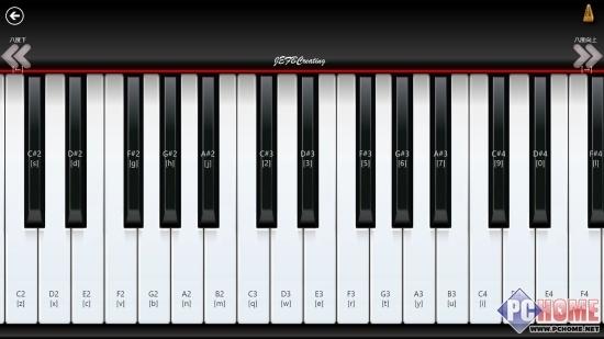 指法练习不再枯燥 win8钢琴应用寓教于乐图片