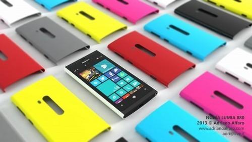 可自由更换外壳 诺基亚Lumia 880曝光