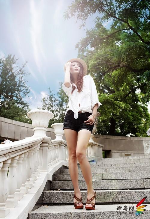 轻松掌握5个小技巧 把美女拍的更显瘦|人像