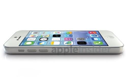 类似iPadmini设计廉价iPhone效果图亮相