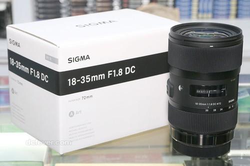 适马18-35mm f/1.8 DC镜头香港正式开卖
