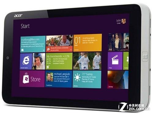 全球最小Win8平板 Acer W3仅售3088元