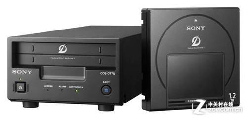 Sony ODS-D77U驱动器和ODA PetaSite光盘库