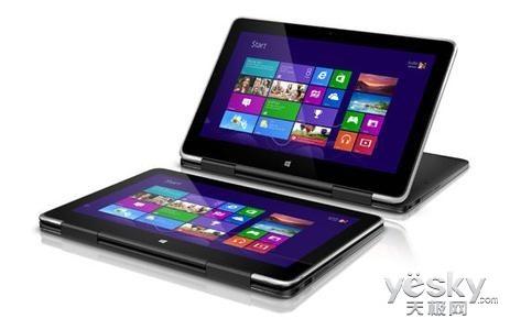 360度翻转屏戴尔XPS11本价格8999元