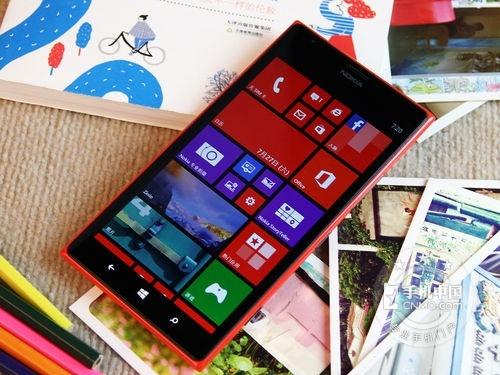 巨屏四核WP8系统Lumia1520售3199元