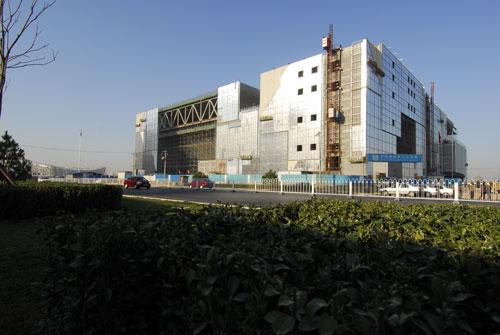 科技时代_图文:建设中的中国科技馆新馆