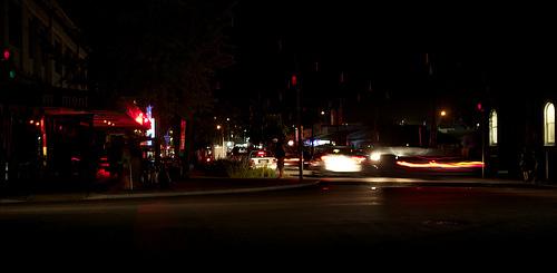 科技时代_图文:澳大利亚汉密尔顿CBD熄灯前后