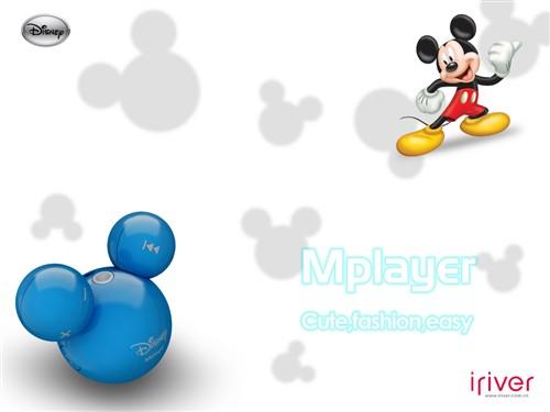 俏皮可爱 米老鼠与mplayer壁纸第二辑