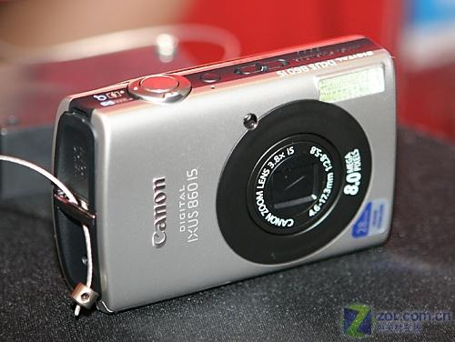送卡送电池佳能防抖IXUS860IS仅2750