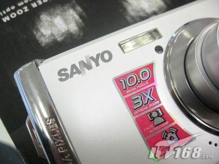 [郑州]靓丽卡片相机三洋S1070售990元