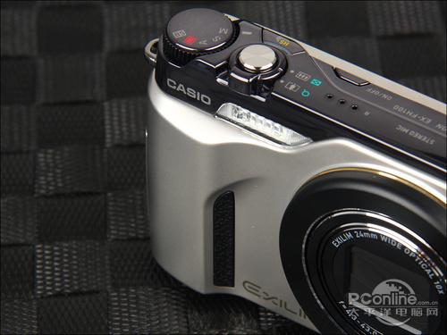 10倍光学变焦镜头卡西欧FH100仅售1700元