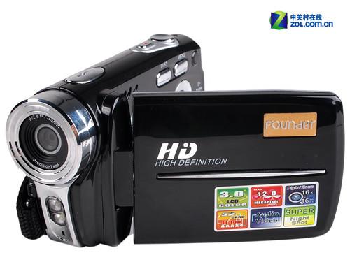 720p高清掌中宝数码摄像机方正V606评测