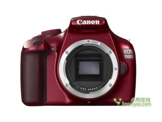 佳能EOS 1100D数码单反相机-4种颜色功能添新 佳能1100D性能详解