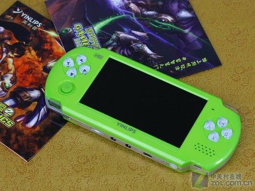 神似PSP英利普YDPG87游戏MP4评测
