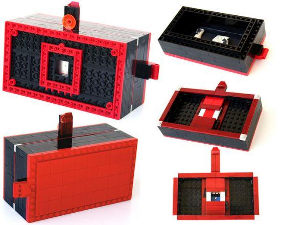 纯手工打造 乐高积木制作针孔相机一览