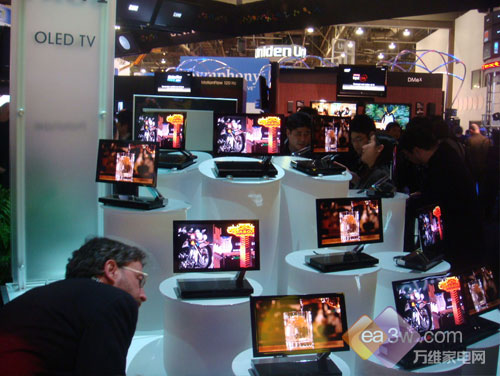 2008CES:索尼最新27英寸OLED电视亮相