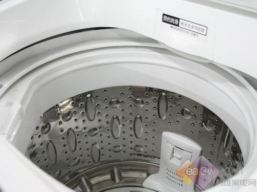 三洋电解水大容量洗衣机开甩