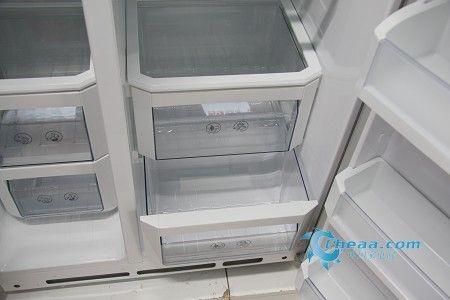 大容量也节能海信双循环对开门冰箱鉴赏