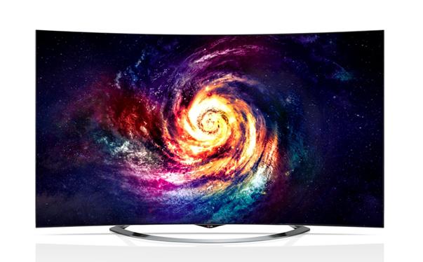 65英寸巨型4k曲面oled电视