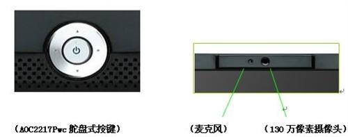 享受完美高清画质AOC22寸显示器热