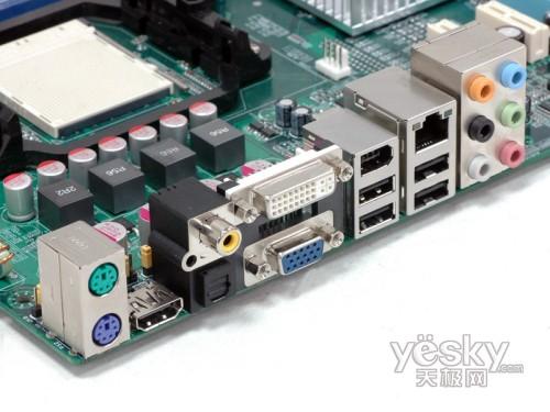 提供智能输出 七彩虹MCP78主板规格曝光