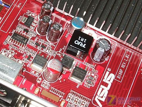 默认820/1800MHz华硕强悍HD3450显卡499