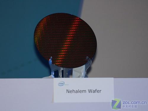 45nm六核将出Intel下代CPU晶圆曝光