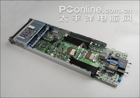 m600孪生兄弟戴尔m605刀片服务器拆解