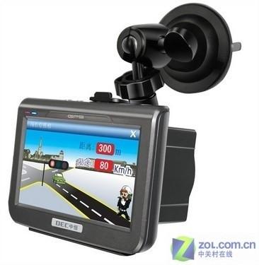 一体式电子狗更方便中恒990K车载GPS