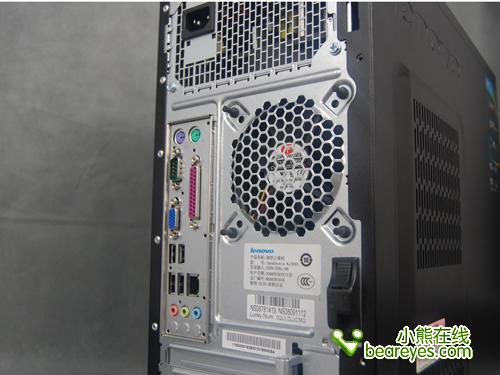 联想电脑 主机的内部结构图